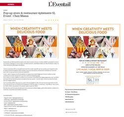 l'eventail agenda popup augustin sagehomme artist deeriam fashion exposition flagey art