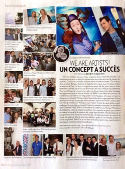 we are artists - 2016 - Augustin Sagehomme - paris match - H18 - chatelain - bruxelles