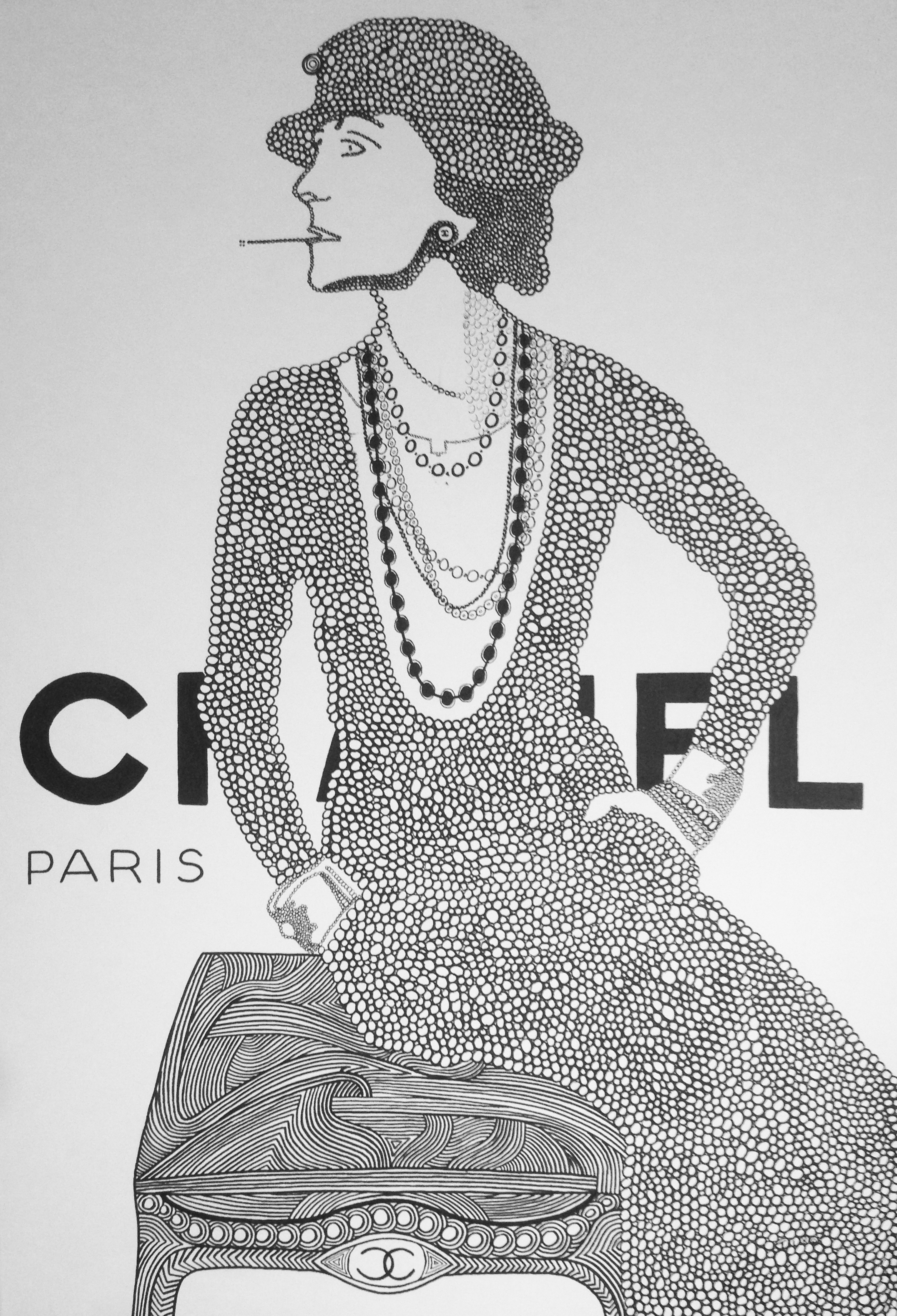 Mademoiselle Chanel by Tino - Augustin Sagehomme