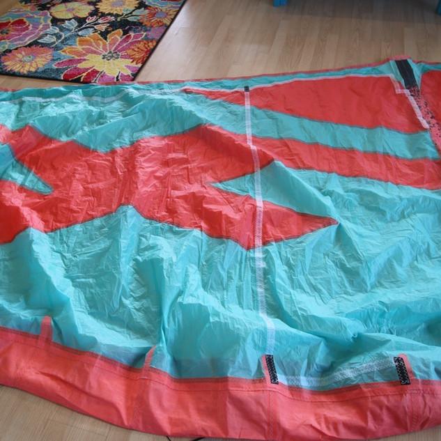 Large kite canopy repair