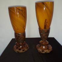 Banksia Nut Goblet or candle holder $40.00 each