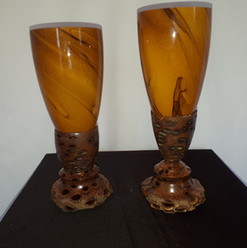 Banksia Nut Goblet or candle holder $40.00 each