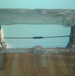 Driftwood Bench $275.00 *SOLD*