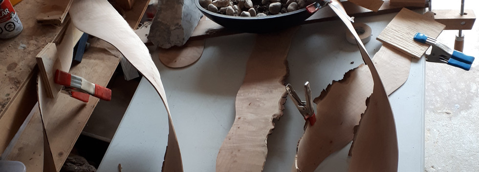 Shaping with clamps