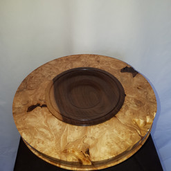 Figured Maple Bowl $150.00