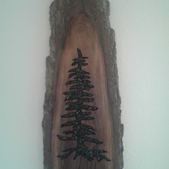 Walnut Wall Hanging $250.00 *SOLD*
