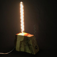 Chestnut lamp