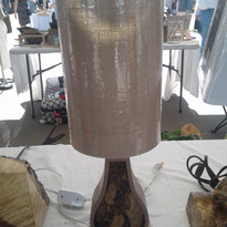 Tall Shade Lamp $125.00