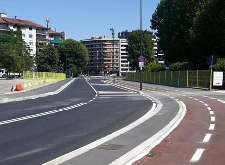 CityLife, apera la nuova pista ciclabile in viale Duilio