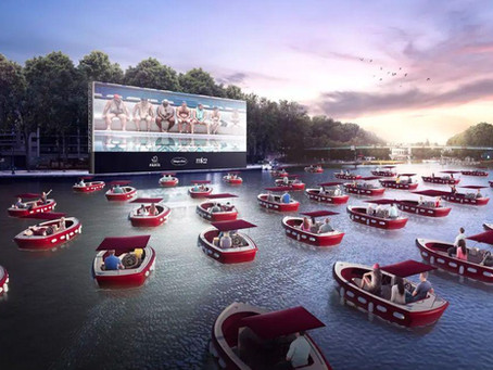 A Parigi arriva un cinema drive-in sull'acqua: tutte le informazioni
