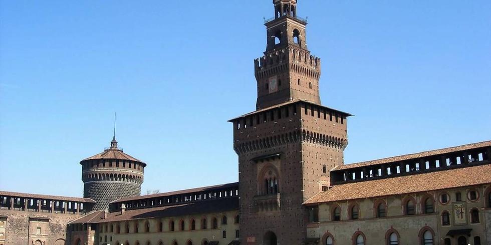 15:50 - 19/04 - Visita Guidata al Castello Sforzesco e Mostra su Leonardo