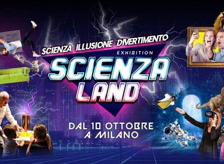 A Milano arriva ScienzaLand: la mostra didattica interattiva in anteprima mondiale