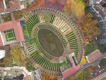 Nel 2022 Milano avrà un bellissimo anfiteatro verde: continuano i lavori per il PAN