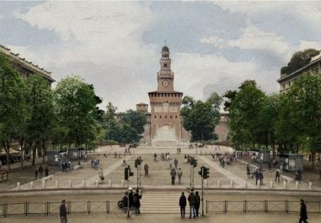 Nuovo volto per Piazza Castello: ecco come cambierà