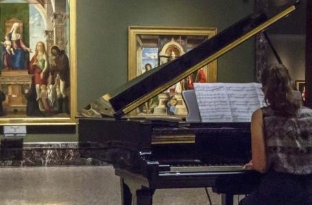 Musica nelle sale della Pinacoteca di Brera