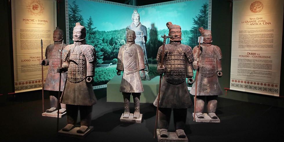 "04/04 - 13:30 - La splendida mostra ""L'Esercito di Terracotta"" - Visita Guidata"