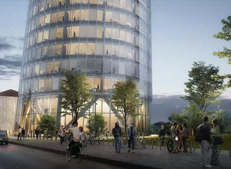 """Ecco la """"torre-faro"""" di A2A: una torre inclinata a Milano"""