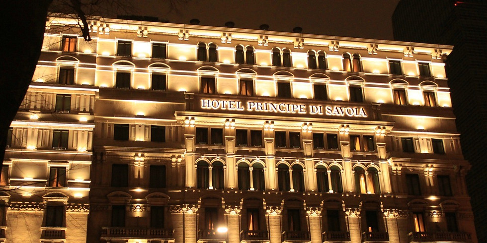 Aperitivo di Natale allo splendido Hotel Principe di Savoia