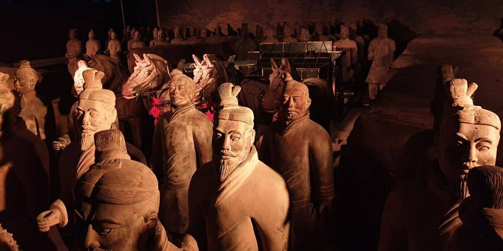 "15/03 - La splendida mostra ""L'Esercito di Terracotta"" - Visita Guidata"