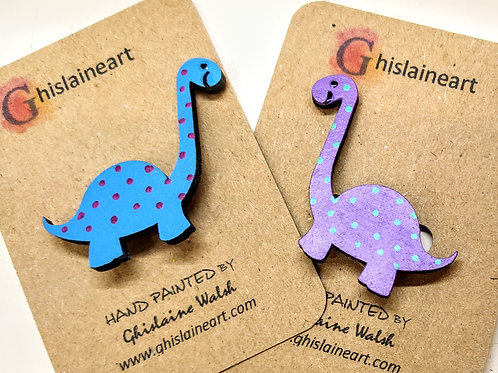 Childrens Dinosaur Brooches