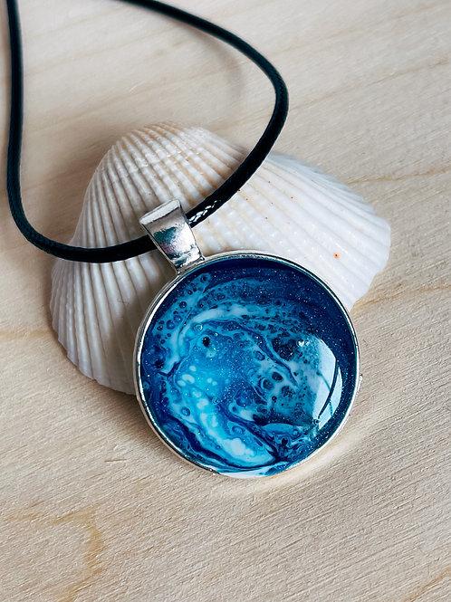 Little Ocean Necklaces - round