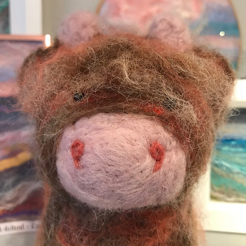 Hamish the Highland Cow - Hand-felted
