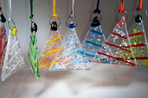 Glass Hanging Trees