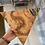 Thumbnail: Triangle Olive Wood serving Board