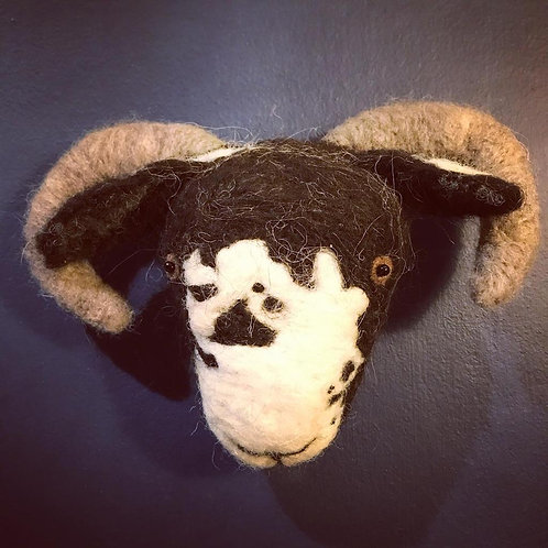 'Rose the Rough Fell Sheep' - Hand-felted - 100% British Wool