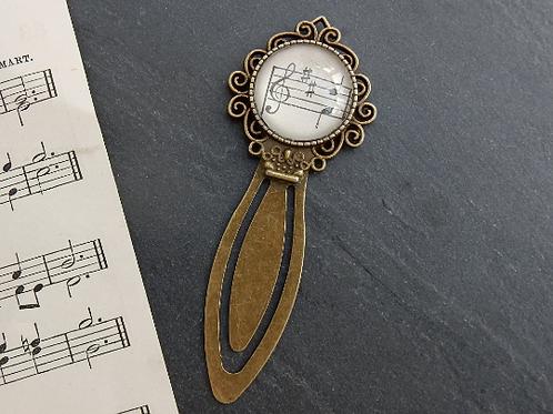 Upcycled Vintage Sheet Music Bookmark