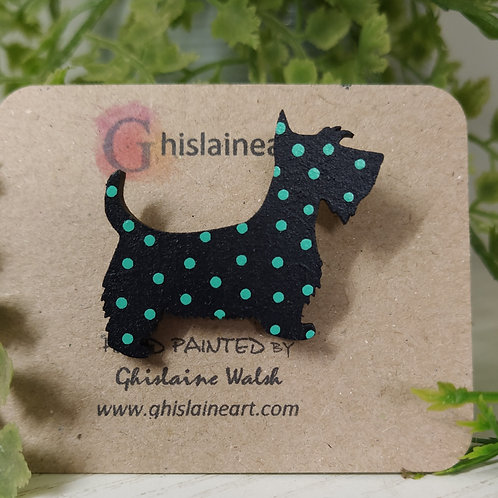 Spotty Animal Brooches