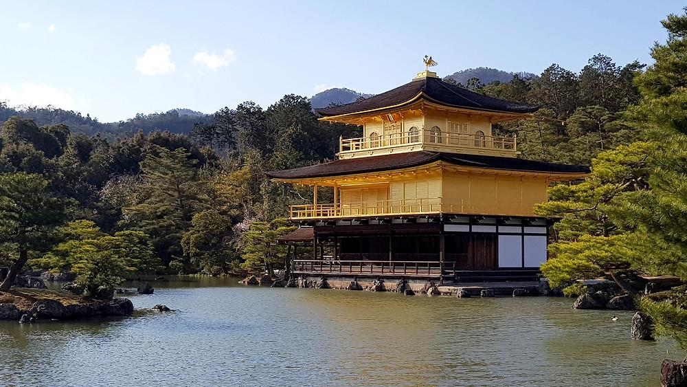Pabellón dorado, Kinkakuji