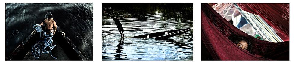 Conjunto 3 fotos da Série Rio Negro Amazonas - A partir de R$699
