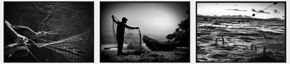 3 fotos - Série Pescadores - A partir de R$ 693