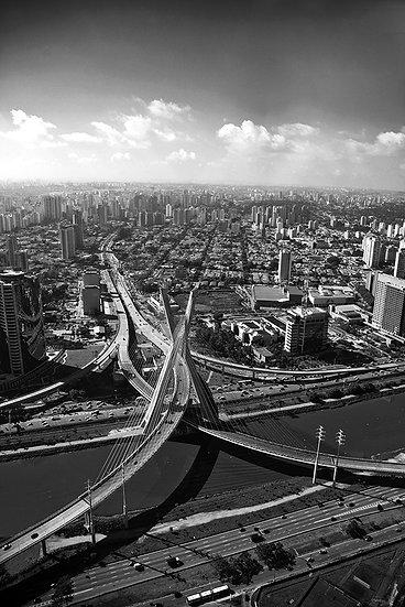Ponte estaiada - São Paulo - Artista Cordel Imagens  /  A partir de R$ 115