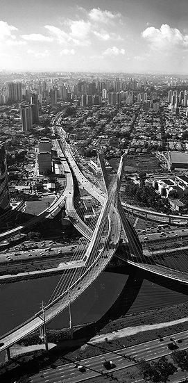 Ponte estaiada - São Paulo - Artista Cordel Imagens  /  A partir de R$ 56
