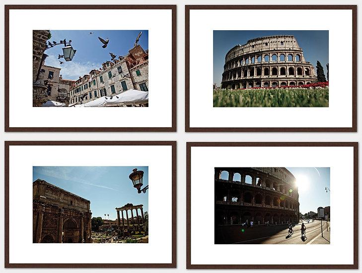 4 fotos Série Roma - Artista: Leonardo Rodrigues - A partir de R$ 140
