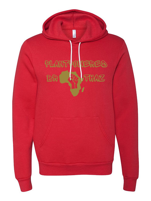 Plant Powered Brothaz  Fund RaiserHoodie