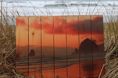 0112 - Cannon Beach Sunset