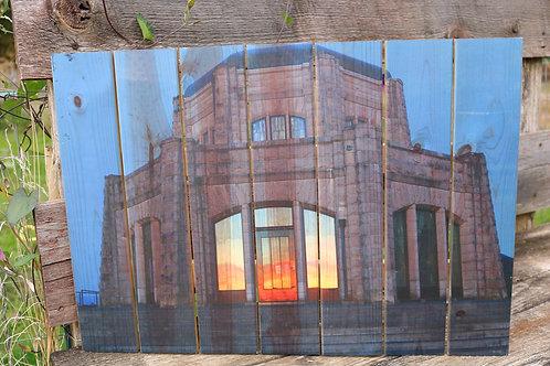 0027- Vista House - Sunset Reflection