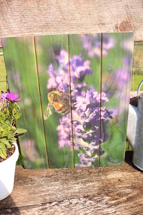 0090- Bee on Lavender