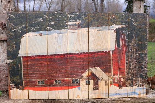 0095- Big Red Barn