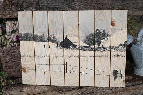 0038- Winter Barn