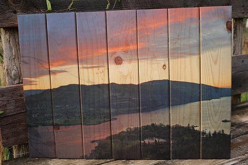 0041- Sunrise from Rowena Crest