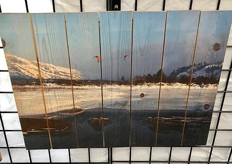 0037- Kiteboarders on Snow