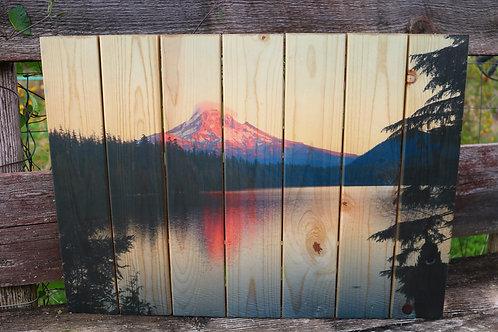 0058- Mt. Hood Sunset - Lost Lake
