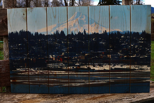 0036- Mt Hood, Downtown Hood River and Waterfront in the Snow