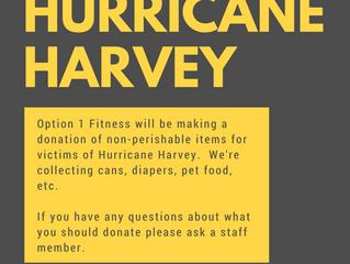Donating to Hurricane Harvey
