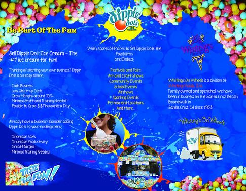 Dippin Dots Brochure Flyer (inside)