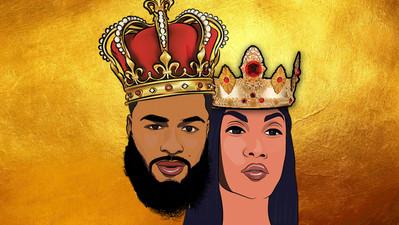 Royal Family Cartoon